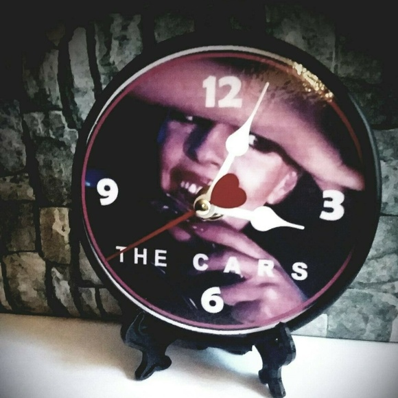 New Homemade Other - THE CARS - 5 INCH DESKTOP CLOCK NEW